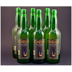 Pack 6 botellas Cortina tapón escanciador