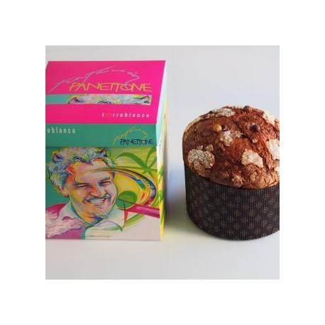 Panettone Gianduja naranja y chocolate