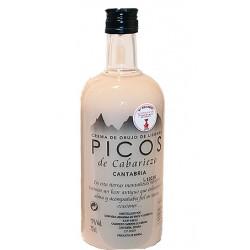 Botella Licor Crema Orujo Picos de Cabariezo