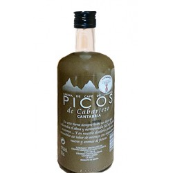 Botella Licor Crema Café Picos de Cabariezo
